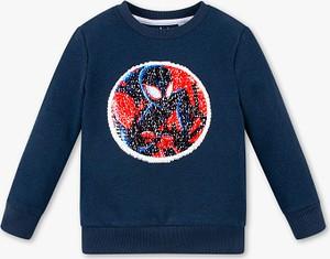 Niebieska bluza dziecięca C&A z bawełny