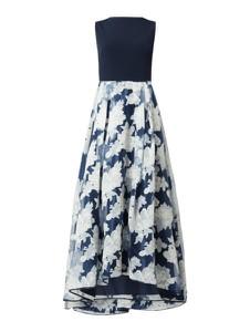Granatowa sukienka Swing