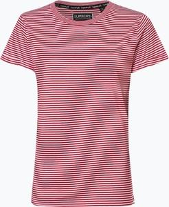 Czerwony t-shirt Superdry z krótkim rękawem