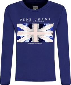 Niebieska bluza dziecięca Pepe Jeans