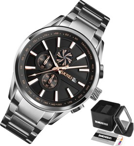 Zegarek męski SKMEI 9175 złoty WODOODPORNY