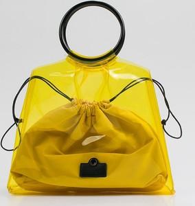 Żółta torebka Monnari
