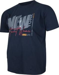 T-shirt Bigsize z krótkim rękawem