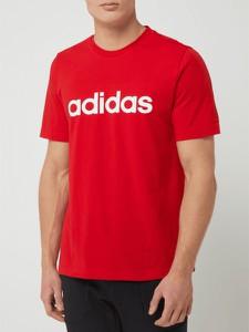 T-shirt Adidas Performance w młodzieżowym stylu z krótkim rękawem z bawełny