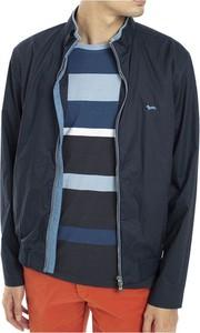 Niebieska kurtka Harmont & Blaine krótka