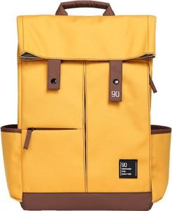 Żółty plecak męski Xiaomi z tkaniny