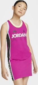 Fioletowa koszulka dziecięca Nike bez rękawów