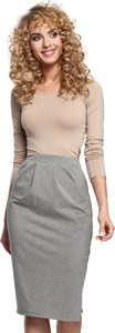 Spódnica MOE z bawełny midi