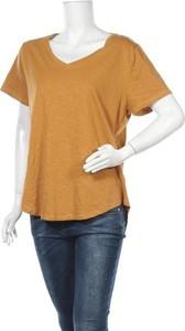 Brązowy t-shirt Emerson w stylu casual