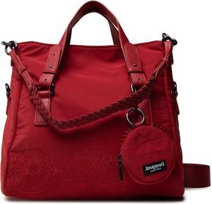 Czerwona torebka Desigual duża na ramię