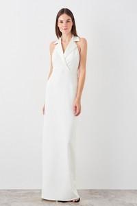 Sukienka Trendyol bez rękawów kopertowa