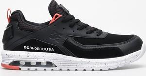 Granatowe buty sportowe DC Shoes sznurowane