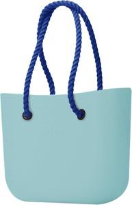 Turkusowa torebka O Bag na ramię matowa