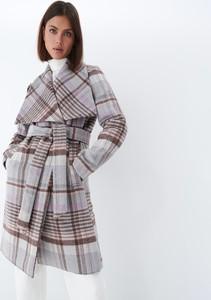 Płaszcz Mohito w stylu casual z wełny bez kaptura