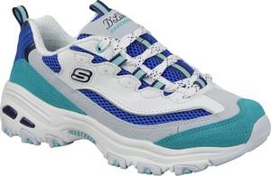 Buty sportowe Skechers sznurowane na obcasie w sportowym stylu