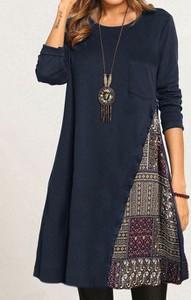 Sukienka Cikelly z długim rękawem midi