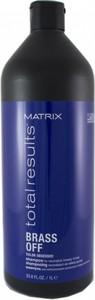 MATRIX TOTAL RESULTS Brass OFF szampon do włosów rozjaśnianych 1000ml