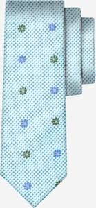 Miętowy krawat Wólczanka