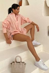 Różowa koszula IVET