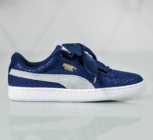 Puma Basket Heart Denim WM'S 363371-01