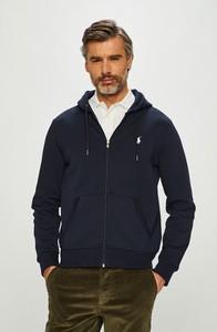 Granatowa bluza POLO RALPH LAUREN z bawełny