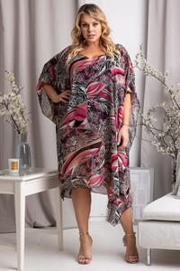 Sukienka KARKO z długim rękawem oversize midi