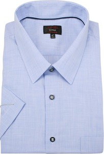 Niebieska koszula Jurel z bawełny