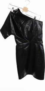 Sukienka NA-KD mini ze skóry