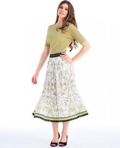 Spódnica POTIS & VERSO w stylu casual z nadrukiem