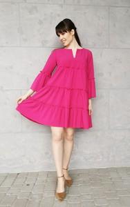 Sukienka Sklepfilloo mini z długim rękawem