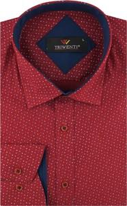 Koszula Triwenti z tkaniny z długim rękawem