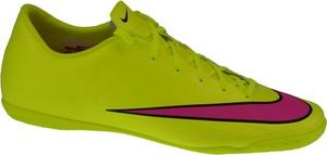 Zielone buty sportowe Nike mercurial