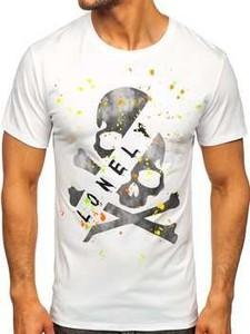 T-shirt Denley z krótkim rękawem z nadrukiem w młodzieżowym stylu