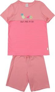 Różowa piżama Schiesser dla dziewczynek
