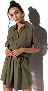 Sukienka Lemoniade z długim rękawem koszulowa mini