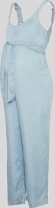 YESSICA C&A Ciążowe ogrodniczki z lyocellu, Niebieski, Rozmiar: 34