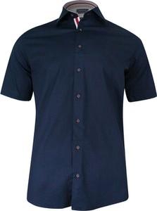 Koszula Rigon w stylu casual z krótkim rękawem