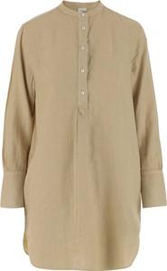 Bluzka Aspesi z dekoltem w kształcie litery v w stylu casual