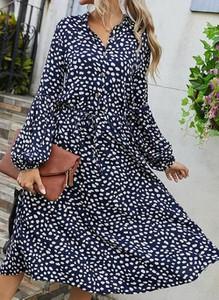 Sukienka Cikelly z dekoltem w kształcie litery v mini w stylu casual