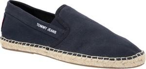 Buty letnie męskie Tommy Jeans z tkaniny w stylu casual