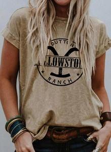 Brązowa bluzka Sandbella z okrągłym dekoltem