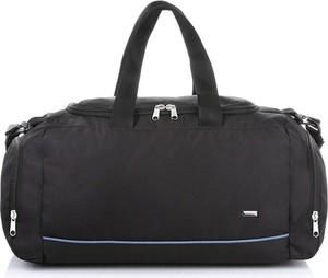 Czarna torba podróżna Merg