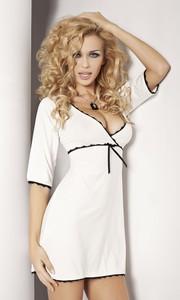 Koszulka Model Magnolia Ecru - DKaren