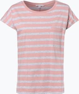 Różowy t-shirt marie lund