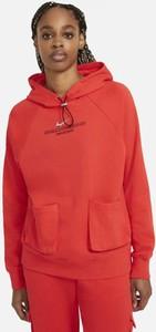 Czerwona bluza Nike