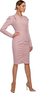 Sukienka MOE z tkaniny