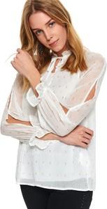 Bluzka Top Secret ze sznurowanym dekoltem