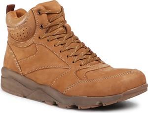 Brązowe buty zimowe Sergio Bardi