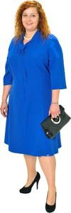 Sukienka Sklepfilloo z dekoltem w kształcie litery v w stylu casual