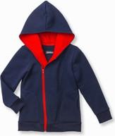 Granatowa bluza dziecięca ombre clothing